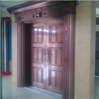 供应铝合金豪华大门,高等门窗型材
