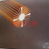 供应金太阳花散热器铝型材