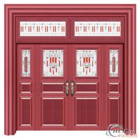 紫铜色豪华艺术大门
