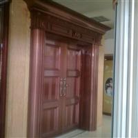 紫铜色铝合金豪华艺术大门