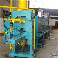 供应铝型材设备多支长棒热剪加热炉