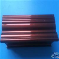 紫铜色铝合金大门型材