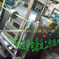 铝箔重卷线涂油机