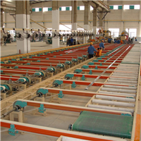 鋁型材輸送生產線