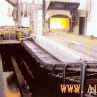 铝合金锭铸锭机+叠锭机+溶铝炉