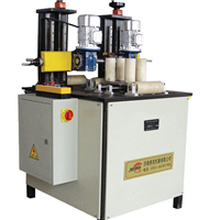 隔热断桥型材生产线设备机器机械铝塑复合型材开齿机复合滚压机