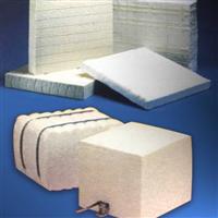 硅酸铝纤维贴面块及组块