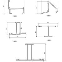 建筑�X型材