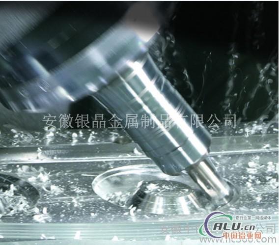 铝合金精加工CNC加工精切割