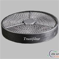 供应铝质初效除油烟过滤网(圆形)