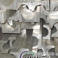 异性铝材半月铝棒上海铝槽