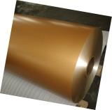 彩色铝卷彩色涂层铝卷聚酯铝卷