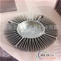 6063LED灯具散热器山东铝材厂家