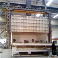 大型可变容台车式热处理炉
