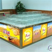 散装食品塑料盒制作铝合金柜子专用盒子工厂批 超市货架专用柜子透明半透明