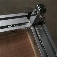 铝合金装饰柜三叉展柜货架厂家
