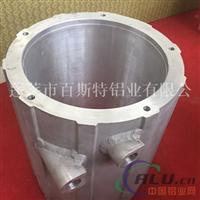 水冷式铝合金挤压电机壳体