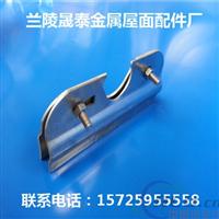 晟泰公司专供:钢结构彩钢金属屋面防风加固