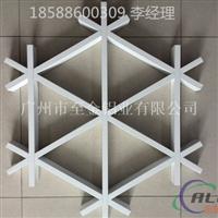 三角铝格栅铝格栅规格介绍【18588600309】