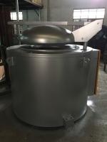 100吨压铸机坩埚式熔铝炉