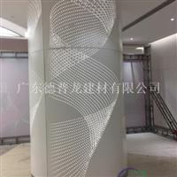 包柱雕花铝单板 包柱镂空板厂家