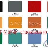 彩涂铝卷的特点以及用途