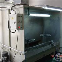 供应铝材喷粉线喷粉柜水濂柜